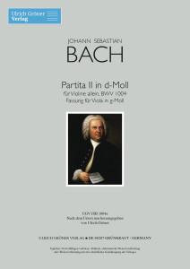 J.S.Bach Partita II BWV 1004 Viola
